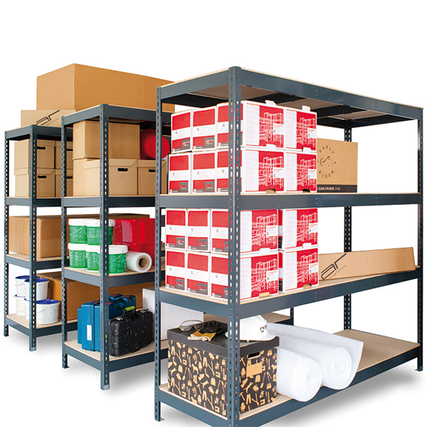 stocker etag re en kit clipsable m tal bois ar shelving. Black Bedroom Furniture Sets. Home Design Ideas