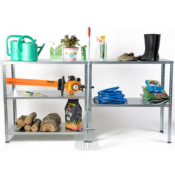 bricol etag re m tallique avec boulons en kit ar shelving. Black Bedroom Furniture Sets. Home Design Ideas